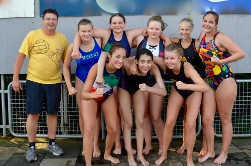 Wasserball: Platz 5 im NRW-Finale für aufopferungsvoll kämpfende Mädchen des Aachener SV 06