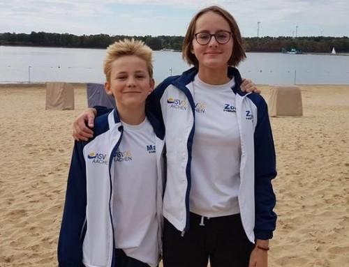Familiäre Erfolge – Freiwassermeisterschaften 2018