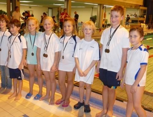 Vierte Wettkampfmannschaft präsentiert sich auf Barbaraschwimmen in toller Form