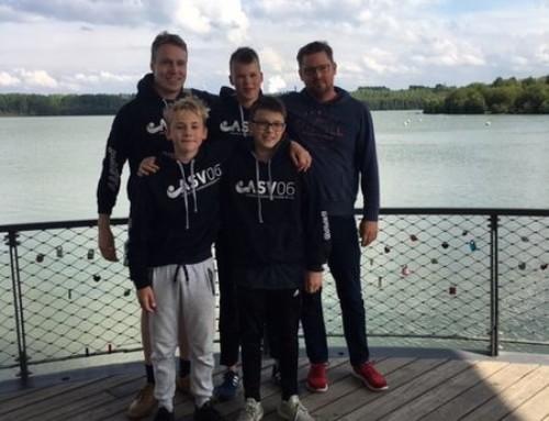 ASVler auf Medaillenfang im Blausteinsee