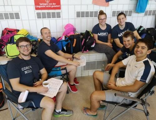 Der Saisonauftakt beim Euregioschwimmen 2019
