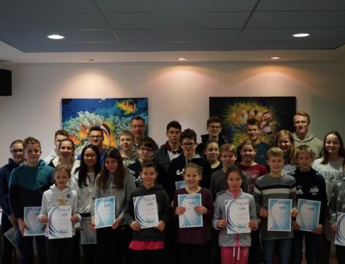 Jahresbeginn Bezirkskader & Auswahlmannschaft mit 9 Schwimmern des ASV06